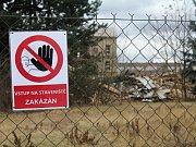 Bourání jezdeckých kasáren v Prostějově - 3. února 2016