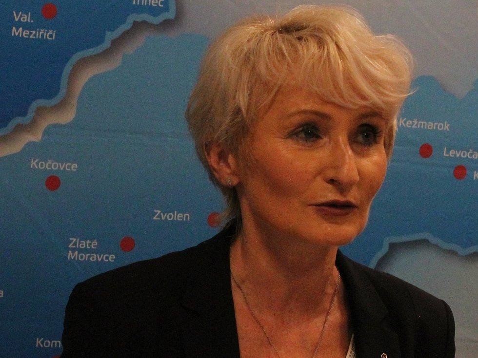 Marie Marsová, ředitelka Nemocnice Prostějov
