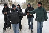 Zimní pochod na počest Pepy Zeleného