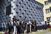 Trafostanici v Janáčkově ulici v Prostějově vymalovali studenti prostějovské Střední školy designu a módy.