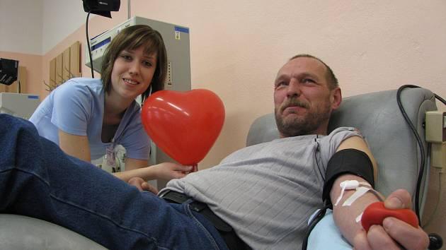 Nemocnice připravuje Valentýnské darování krve.