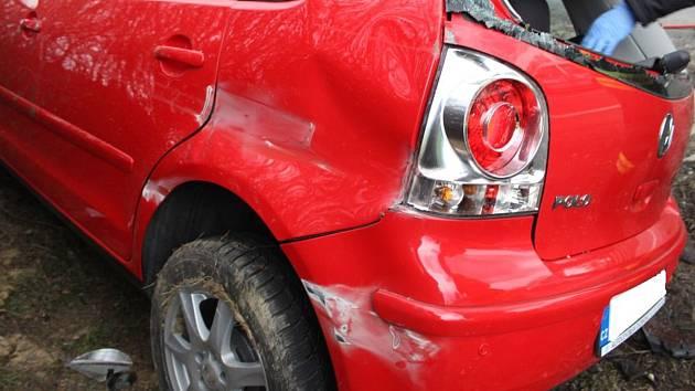 Nehoda řidičky na D46 ve čtvrtečním odpoledni.