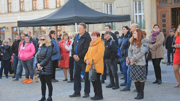 Připomínka 30. výročí sametové revoluce se v Prostějově