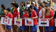 Zahájení Mistrovství světa družstev hráčů do čtrnácti let v Prostějově