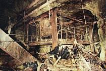 Snímky z knihy Zlatohorské podzemí