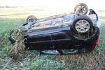 Následky nehody u Stařechovic