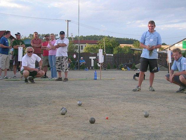 Petanqueový turnaj Krumsínská hroda