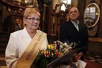 Titul Knihovna roku si Protivanovští převzali v Zrcadlové kapli pražského Klementina