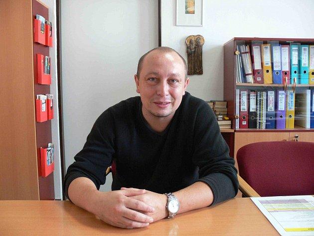 Ředitel Cyrilometodějského gymnázia Pavel Polcr