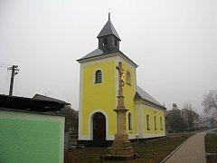 Rekonstruovaná kaple v Rakové u Konice