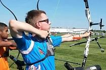 Jednou z domácích nadějí na medaili z prostějovského halového mistrovství republiky je i Michal Hlahůlek, juniorský lukostřelecký reprezentant.