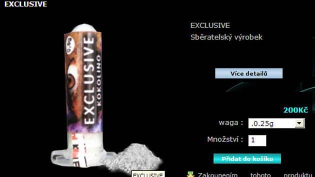 """Online prodej """"sběratelských suvenýrů"""" - Excluzive"""