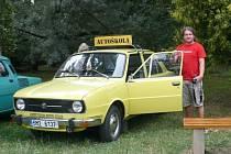 Lukáš Krpálek miluje vozy z dob 70. a 80. let
