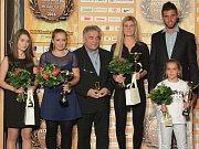 Nejlepší juniorské tenistky a Jiří Veselý. Večer mistrů TK Agrofert Prostějov