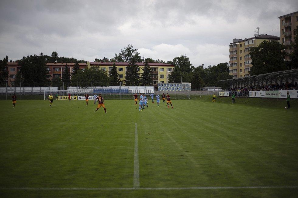 Stadion Za místním nádražím - domovské hřiště druholigového 1.SK Prostějov