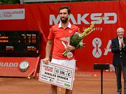 Vítěz UniCredit Czech Open 2016 Mikhail Kukuškin