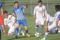 Fotbalisté Prostějova proti Líšni. Ilustrační foto