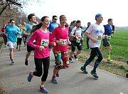 Běžecký půlmaraton v Biokoridoru Hloučela, Prostějov 24.3. 2019