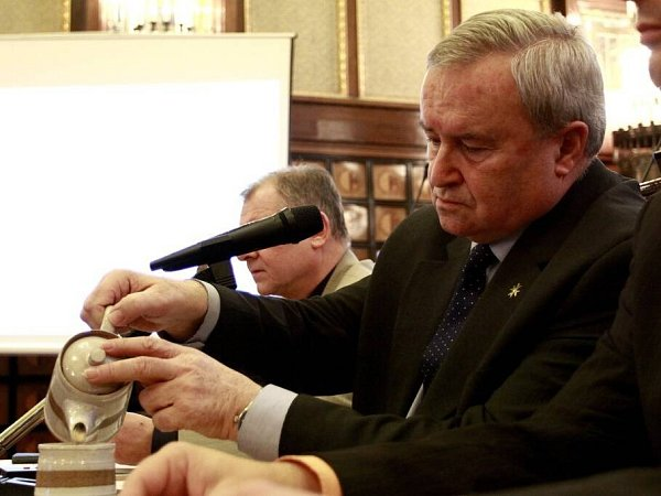 Primátor Prostějova Miroslav Pišťák