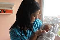 Jakub Štogryn s maminkou Jitkou, Hamry, narozen 30. listopadu, 50 cm, 3550 g