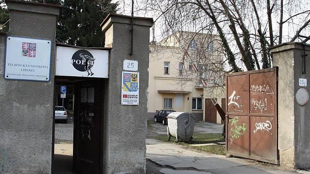 Detašované pracoviště Technické univerzity Liberec v Olomoucké ulici v Prostějově