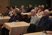 Setkání jubilantů v Kulturním klubu Duha