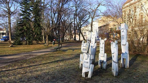 Smetanovy sady v Prostějově