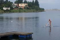 Water bird na plumlovské přehradě