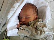 Jonáš Hendrych, Prostějov, narozen 18. května v Prostějově, míra 50 cm, váha 2950 g