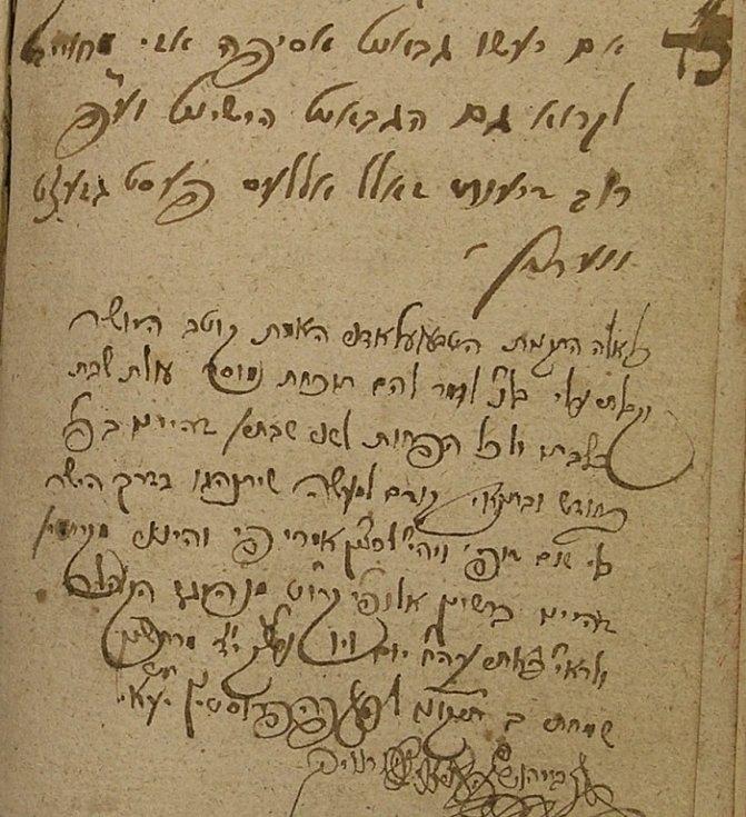 Text rabína Horowitze