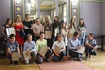 Předávání certifikátů jazykové školy Big Ben v Prostějově