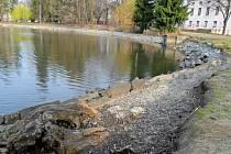 Drozdovický rybník po výlovu. Ilustrační foto