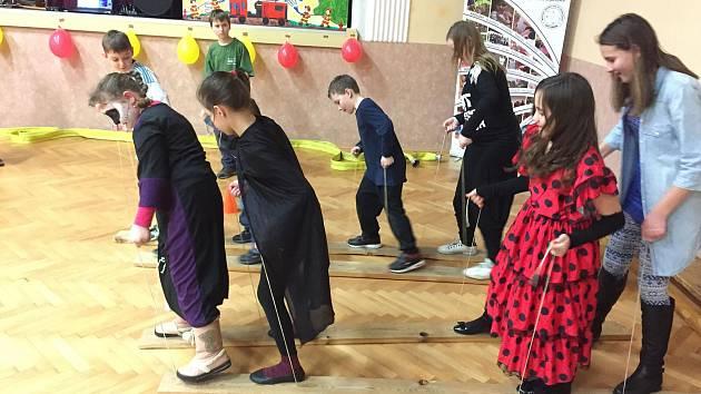 Dětský karneval v Pavlovicích u Kojetína