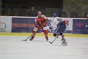 2. kolo WSM Ligy, LHK Jestřábi Prostějov - HC Stadion Litoměřice 1:4 (1:0, 0:1, 0:3). Aleš Holík (Prostějov)