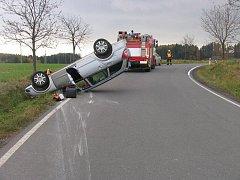 Nehoda opelu u Šubířova