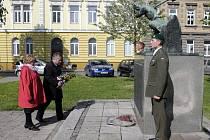 Pietní akt v Prostějově k uctění obětí střelby do hladové demonstrace v roce 1917