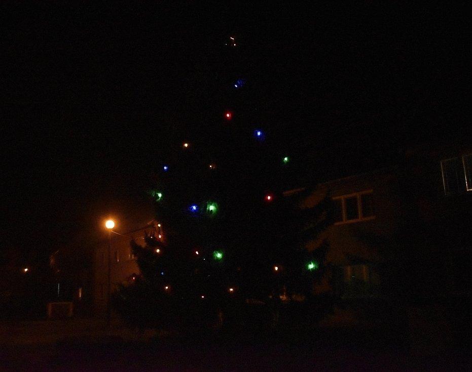 Vánoční strom 2020 ve Stařechovicích