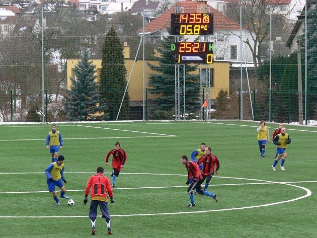 Fotbalové hřiště v Konici
