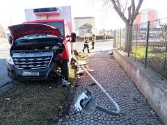 Nehoda v Kostelecké ulici