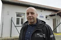 Ředitel Azylového centra v Prostějově Jan Kalla