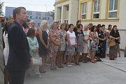 Slavnostní otevření nové školní budovy v Nezamyslicích