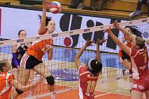 Volejbalistky Prostějova v play-off proti Šternberku