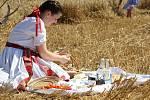 Tradiční sečení v Pivíně