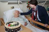 Věnceslava Hrubanová oslavila 103. narozeniny