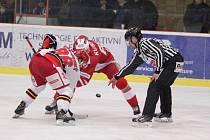 Prostějovští hokejisté prohráli svůj první domácí zápas v novém roce s pražskou Slavií 2:3, a to gólem z poslední minuty hry.