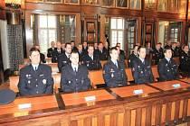Oceňování nejlepších prostějovských policistů
