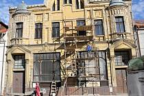 Oprava vnějších partií prostějovské Vodárny na Vojáčkově náměstí