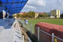Výstavba sportovního areálu na sídlišti E. Beneše