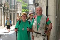 Václav Adam se svou ženou Alenou provází turisty po  poutních místech celé Evropy
