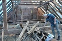 Rekonstrukce hospodářských budov ve farním areálu v Olšanech